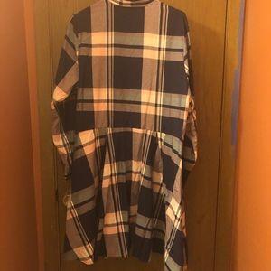 Cotton Plaid Dress